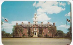 USA, Dover, Del, Legislative Hall, 1960 used, not posted Postcard