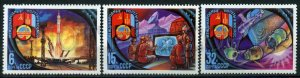 508062 USSR 1981 year Joint space flight with Mongolia set