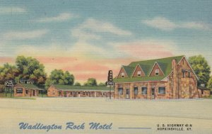 HOPKINSVILLE , Kentucky , 1930-40s ; Wadlington Rock Motel