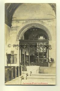 cu1590 - Stanton Church - postcard