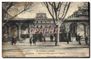 Postcard Old Avignon (Vaucluse) Hautpoul Barracks Army 7th Genie