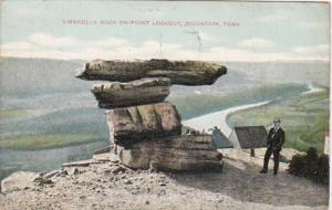 Tennessee Chattanooga Umbrella Rock On Point Lookout Mountain 1909