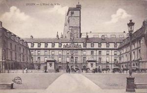 DIJON, L'Hotel de Ville, Cote d'Or, France, 10-20s
