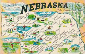 Nebraska Greetings From Nebraska The Cornhusker State