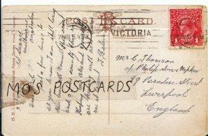 Genealogy Postcard - Thomson - 89 Paradise Street - Liverpool - Ref 607B