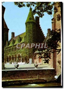 Modern Postcard Brugge Gruuthuse Court of Honor