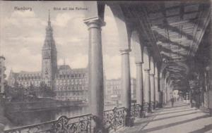 Germany Hamburg Blick Auf Das Rathaus 1910