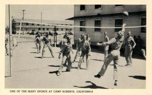 CA - Camp Roberts. Volleyball