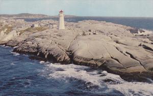 Peggy´s Cove LIGHTHOUSE , Nova Scotia , Canada , 50-60s #3