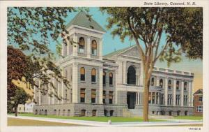 New Hampshire Concord The State Library Curteich