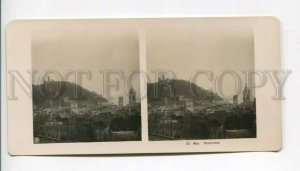 3107254 ITALY Noli Panorama Vintage STEREO PHOTO