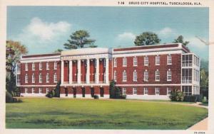 Alabama Tuscaloosa Druid City Hospital Curteich
