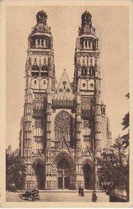 France Tours La Cathedrale Saint Gatien 1934