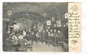 Interior; Michael Koning's Maximiliankeller, WIEN I, Austria , PU-1908
