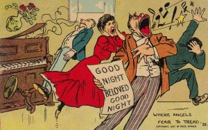 Singers ; Where angels fear to Tread , 1900-10s : Tom Browne