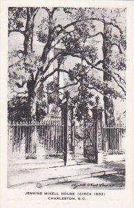 South Carolina Charleston Jenkins Mikell House Circa 1853 Artvue