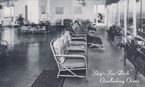 Ship's Sun Deck Colton Manor Hotel Atlantic City New Jersey