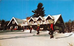Stowe Vermont~Scandinavia Inn And Chalets~1960 Postcard