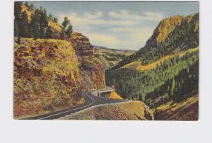 VINTAGE POSTCARD NATIONAL STATE PARK YELLOWSTONE GOLDEN GATE CANYON #4