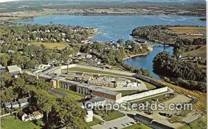 Maine State Prison Thomaston, Maine USA Prison Postcard Post Card Thomaston, ...
