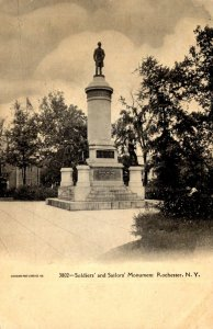 New York Rochester Soldiers and Sailors Monument