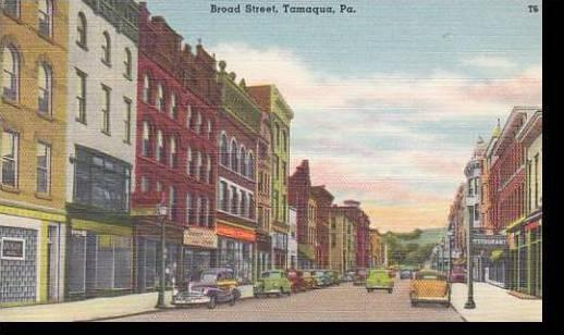 Pennsylvania Tamaqua Broad Street