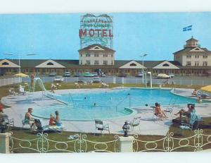 Pre-1980 MOTEL SCENE Sainte-Foy To Levis - Near Quebec City Quebec QC B7554