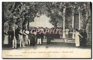 Old Postcard Theater of Varieties Susie the Billionaire Second Act