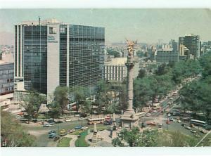 Mexico Maria Isabel Sheraton El Angel Independencia  Postcard # 8326