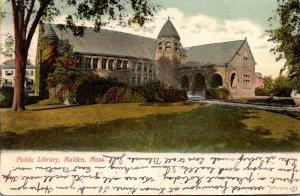 Massachusetts Malden Public Library 1909