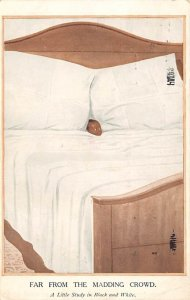 Far From the Madding Croud Child in Bed Blacks Postal Used, Date Unknown