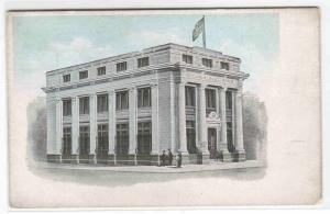 Wilkinsburg Bank Pennsylvania 1920c advertising postcard