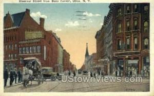 Bleecker Street Utica NY 1920