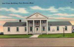 Massachusetts Fort Devens Red Cross Building
