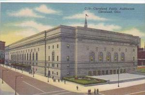 Ohio Cleveland Cleveland Public Auditorium