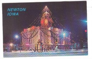 Largest decorated man-made Christmas Tree, Jasper County Court House, Greetin...