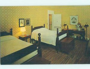Pre-1980 HARRIET BEECHER STOWE ROOM AT GOLDEN LAMB INN Lebanon OH d0409-12