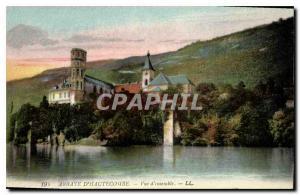 Postcard Abbey Hautecombe Overview