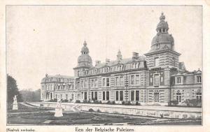 Belgium Belgische Paleizen Palace Exterior Antique Postcard J67619