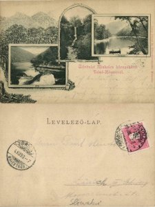 hungary, MISKOLC, Miskolez környékéról Felsö-Hámorról (1899) Postcard