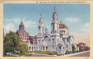 New York Lackawanna Our Lady Of Victory National Shrine