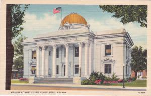 RENO, Nevada, 30-40s; Washoe County Court House