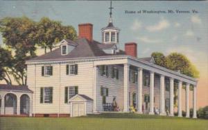 Virginia Mount Vernon Home Of George Washington