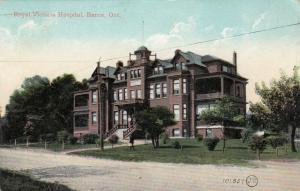 BARRIE , Ontario , Canada , 1907 ; Royal Victoria Hospital