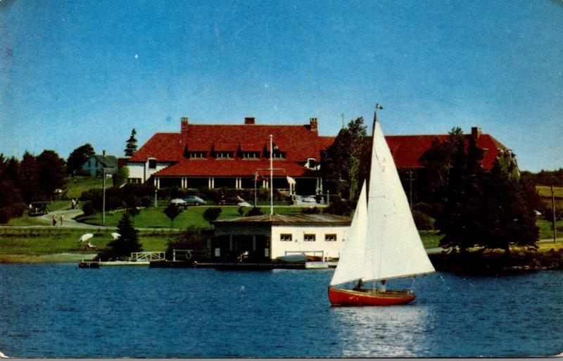 Canada Nova Scotia Yarmouth Lakeside Inn Canadian Pacific Railway Summer Hotel