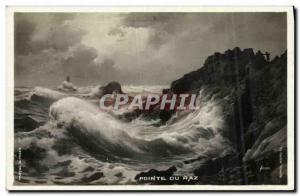 Old Postcard The Pointe du Raz