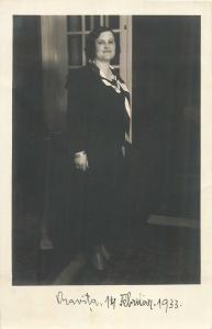 Romania Oravita 1933 photo postcard