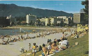 Bathing Beach , English Bay , VANCOUVER , B.C. , Canada , 50-60s