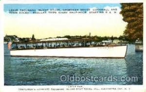 Uncle SAM, Alexandria Bay, N.Y., New York, USA Ferry Boat, Boats Postcard Pos...