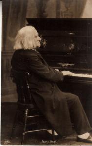Franz Liszt at the Piano  Unused